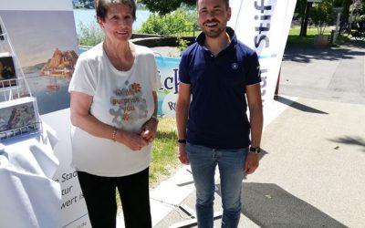 Koblenzer Kultur Stiftung vor Ort beim Augusta-Fest