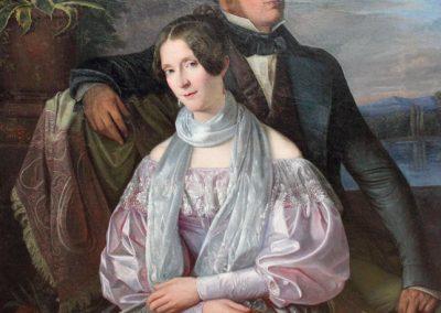 """Das Bild zeigt das """"Deinhard""""-Portrait von Hermann Anschütz."""