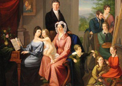 """Das Bild zeigt ein Familienbild der """"Familie Gassen""""."""